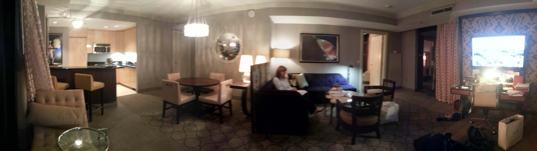 The cosmopolitan wraparound terrace suite den casey for Terrace suite cosmopolitan