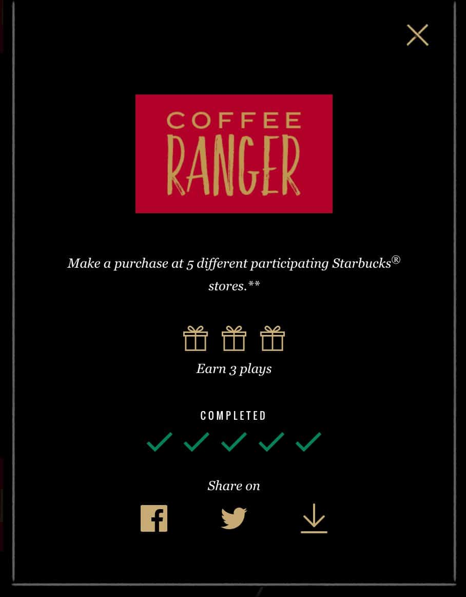 Completed Coffee Ranger Description